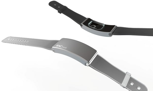 A Wristband That Can Tell You If You're Too Drunk